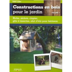 Construction en bois pour le jardin