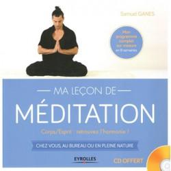 Leçon de méditation (Ma) + CD