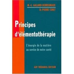 Principes d'élémentothérapie