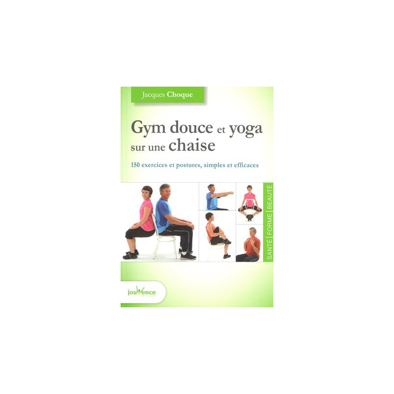Gym douce et yoga sur une chaise