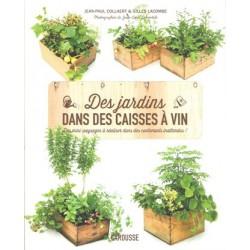 Jardins dans des caisses à vin (Des)