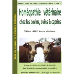 Homéopathie vétérinaire chez les bovins les ovins et les caprins