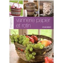 Vannerie papier et rotin