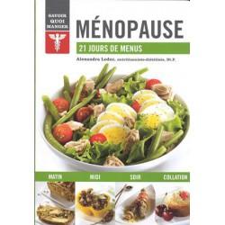 Ménopause 21 jours de menus