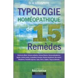 Typologie homéopathique de 15 remèdes