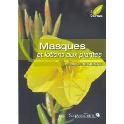 Masques et lotions aux plantes