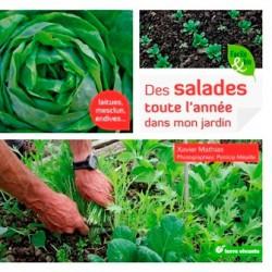 Salades toute l'année dans mon jardin (Des)