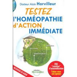 Testez l'homéopathie d'action immédiate