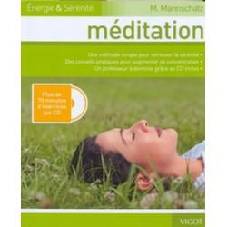 Méditation Plus de 70 minutes d'exercices sur CD