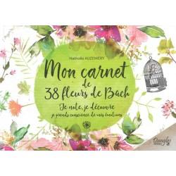 Carnet de 38 fleurs de Bach (Mon)