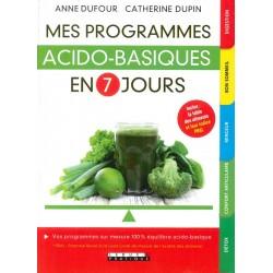 Programmes acido-basiques...