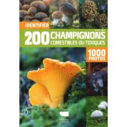 200 champignons comestibles...