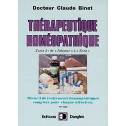 Thérapeutique homéopathique